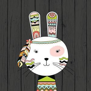 Tribal Rabbit by Tamara Robinson