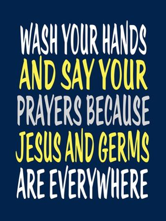 Wash Your Hands Jesus by Tamara Robinson