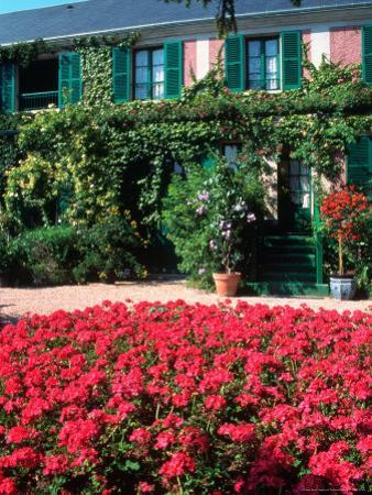 Exterior of Painter Monet's House, Giverny, France by Tamarra Richards