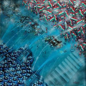 Baricade, 2006 by Tamas Galambos
