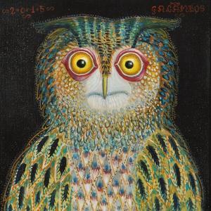 Owl, 2015 by Tamas Galambos