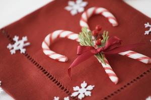Festive Christmas Place Setting by Tammy Hanratty