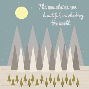 Beautiful Mountains by Tammy Kushnir
