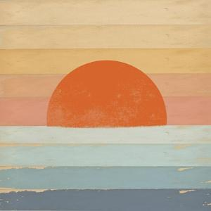 Sunrise over the Sea by Tammy Kushnir