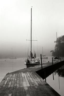 Docked I - BW by Tammy Putman