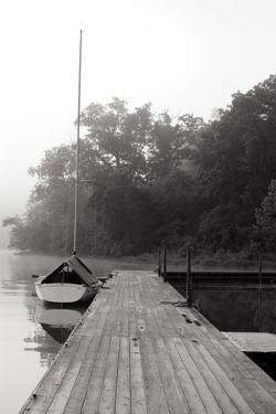 Docked II - BW by Tammy Putman