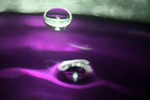 Grape Drink Drop I by Tammy Putman