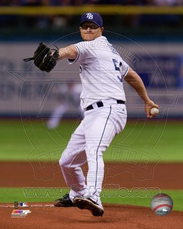 Tampa Bay Rays Alex Cobb 2013 Action