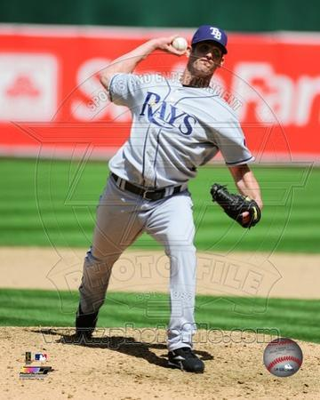 Tampa Bay Rays Grant Balfour 2009 Action