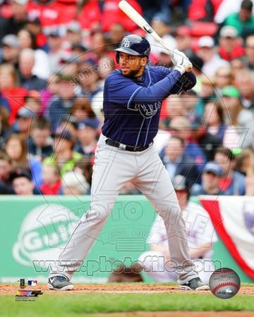 Tampa Bay Rays James Loney 2013 Action