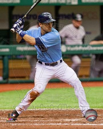 Tampa Bay Rays Sean Rodriguez 2013 Action