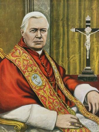 Pope Pius X by Tancredi Scarpelli