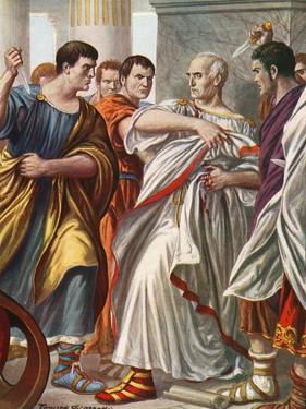 The Assassination of Julius Caesar by Tancredi Scarpelli