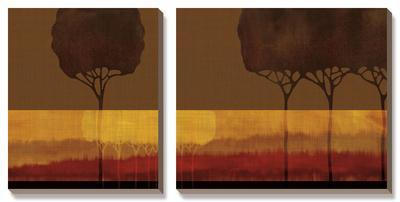 Autumn Silhouettes II by Tandi Venter