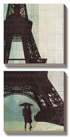 Eiffel Tower I by Tandi Venter