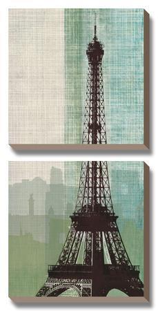 Eiffel Tower II by Tandi Venter