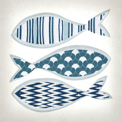 Fish Patterns I by Tandi Venter