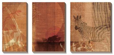Safari Sunset I by Tandi Venter