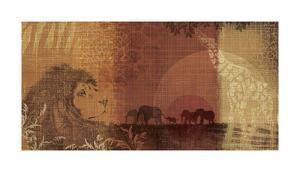 Safari Sunset II by Tandi Venter