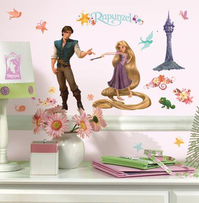 Tangled Peel & Stick Wall Decals