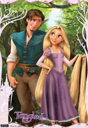 Tangled Rapunzel Movie Poster