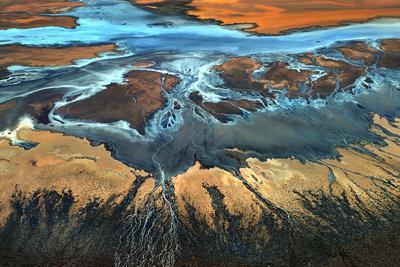 California Aerial - the Desert from Above