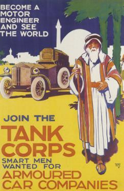 Tank Corps Recruitment