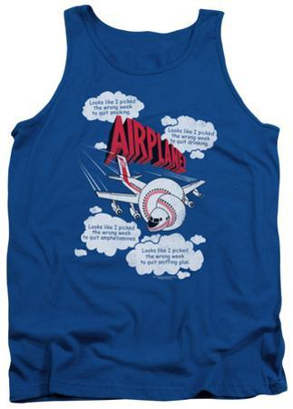 Tank Top: Airplane - Picked The Wrong Day