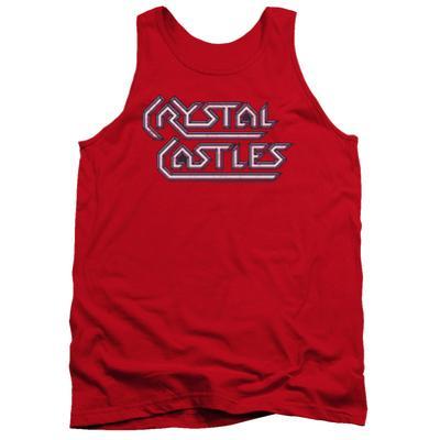 Tank Top: Atari: Crystal Castles- Distressed Logo