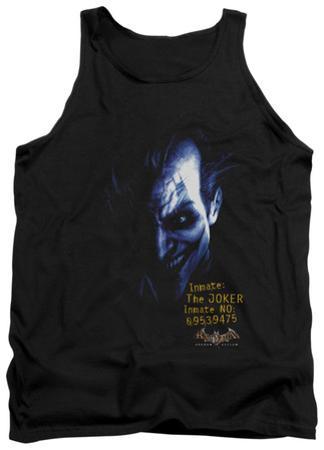 Tank Top: Batman Arkham Asylum - Arkham Joker