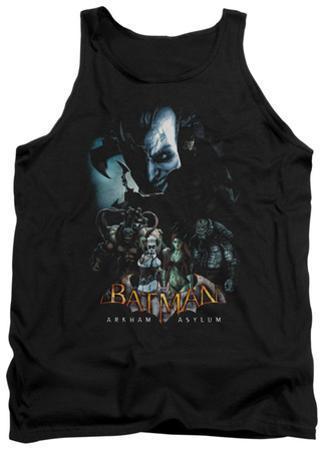 Tank Top: Batman Arkham Asylum - Five Against One