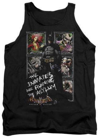 Tank Top: Batman Arkham Asylum - Running The Asylum