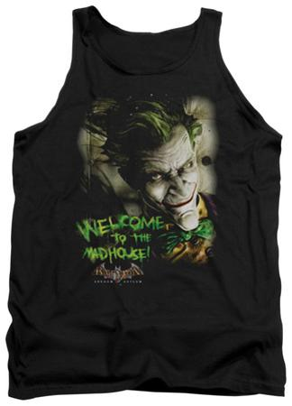 Tank Top: Batman Arkham Asylum - Welcome To The Madhouse