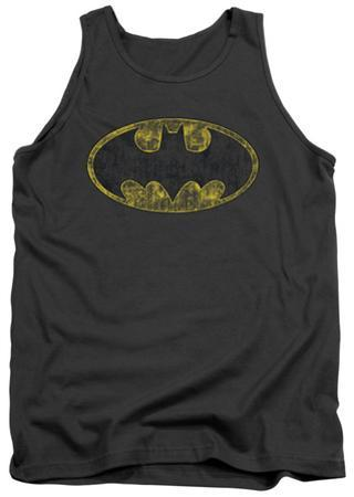 Tank Top: Batman - Tattered Logo