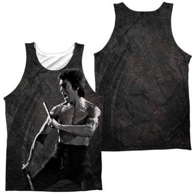 Tank Top: Bruce Lee- Dragon Print (Front/Back)