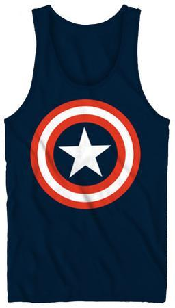 Tank Top: Captain America - 80's Captain