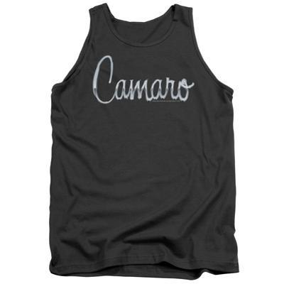 Tank Top: Chevrolet- Camaro Chrome Script