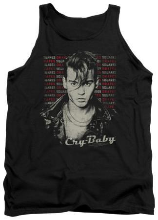 Tank Top: Cry Baby - Drapes & Squares