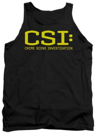 Tank Top: CSI - Logo