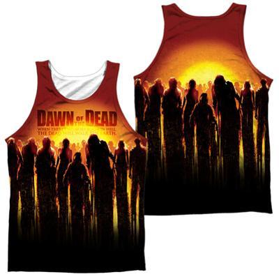 Tank Top: Dawn Of The Dead- Swarm (Front/Back)