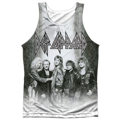 Tank Top: Def Leppard- The Band