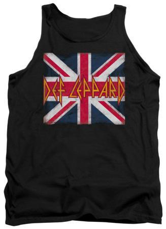 Tank Top: Def Leppard - Union Jack