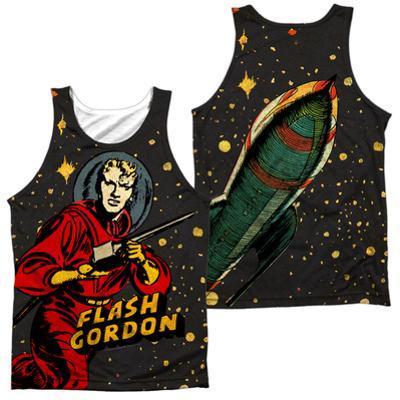 Tank Top: Flash Gordon- Blast Off (Front/Back)