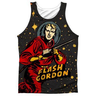 Tank Top: Flash Gordon- Blast Off