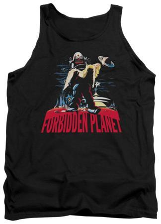 Tank Top: Forbidden Planet - Robby And Woman