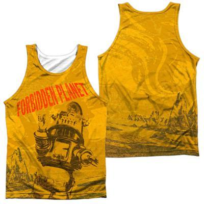 Tank Top: Forbidden Planet- Strang World (Front/Back)