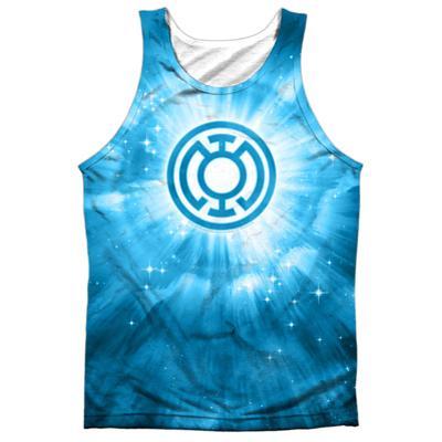 Tank Top: Green Lantern- Blue Energy
