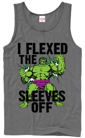 Tank Top: Incredible Hulk- Sleeves Off (Premium)