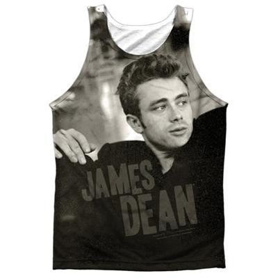 Tank Top: James Dean- Have A Seat Black Back