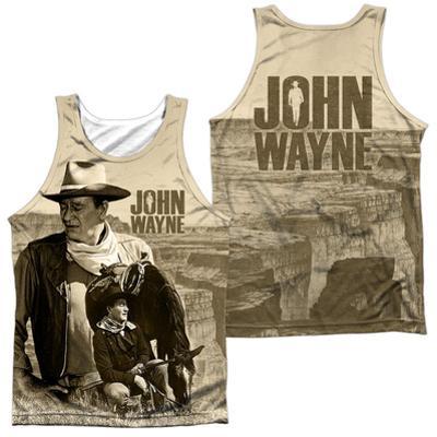 Tank Top: John Wayne- Stoic Cowboy (Front/Back)